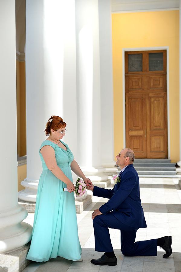 Свадебная фотосессия для двоих в Пушкине.