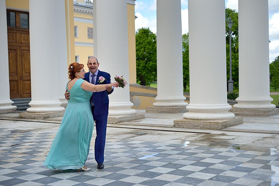Свадьба в Александровском Парке в Пушкине.