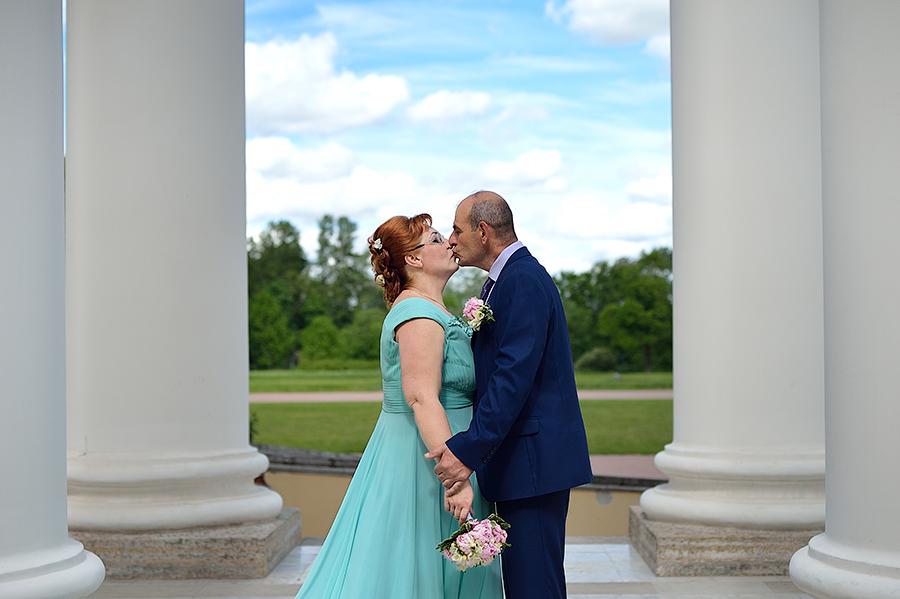 Летняя свадьба в Пушкине. Места для съемки.
