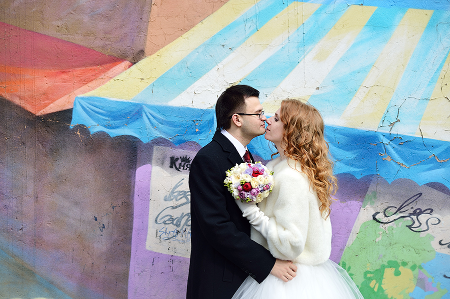Свадьба в апреле в Санкт-Петербурге.