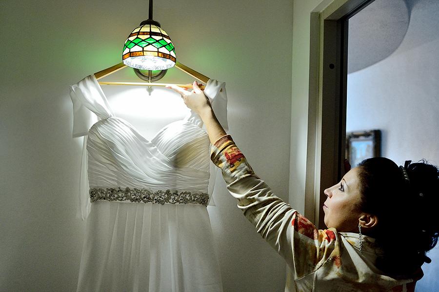 Невеста на сборах в отеле St.Olav в Таллине.