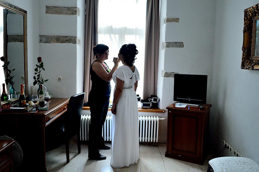 Сборы невесты в отеле St.Olav  в Таллинне.