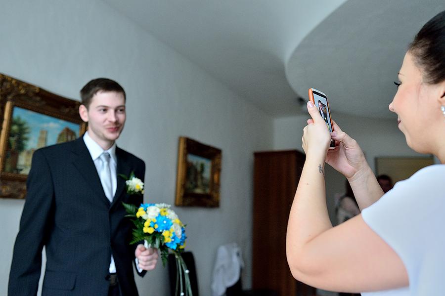 Сборы невесты . Съемка сборов невесты.
