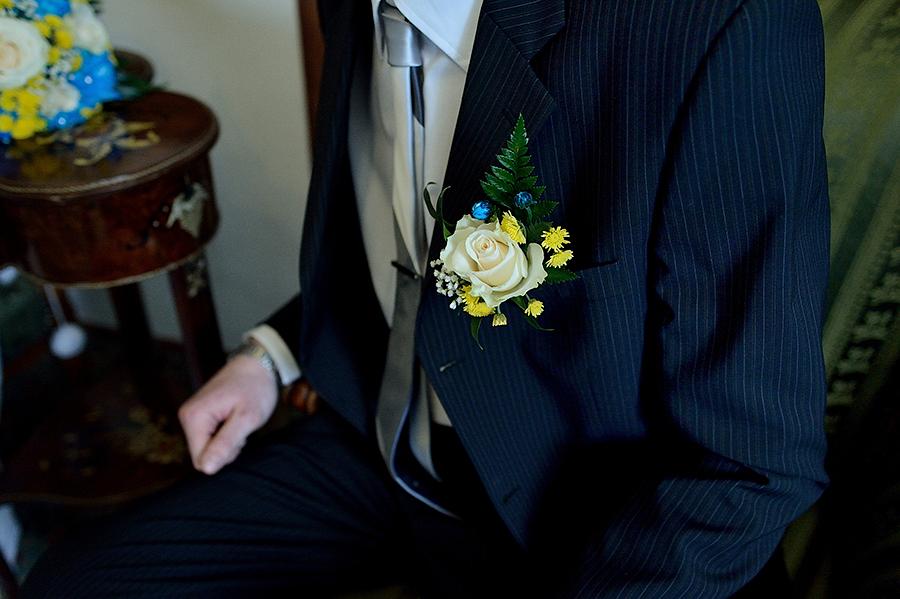Свадебные детали. Бутоньерка жениха.
