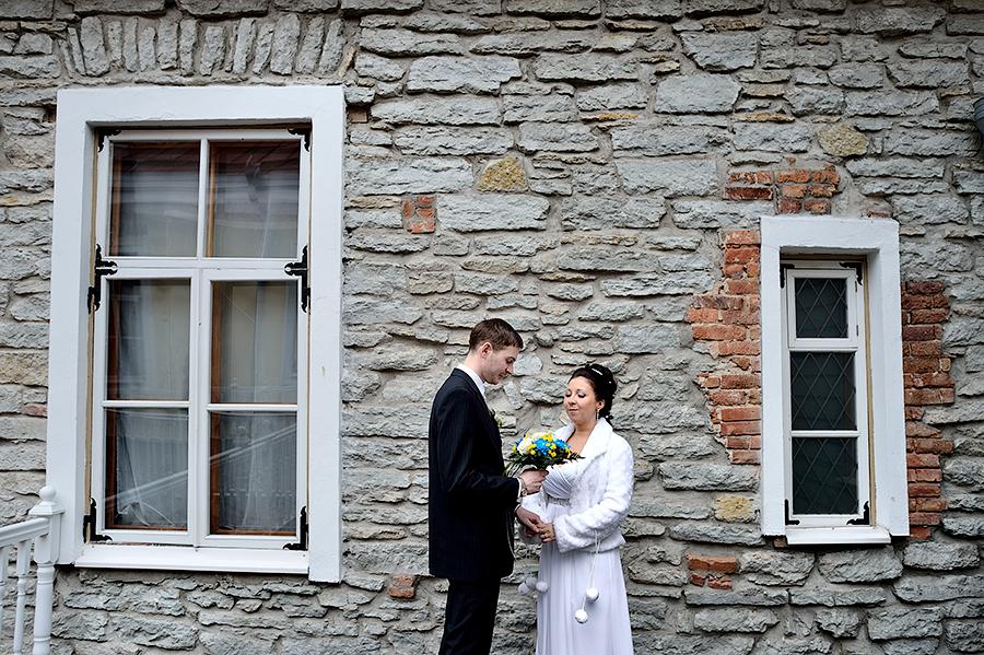 Необычные места для съемки свадьбы в Таллине.