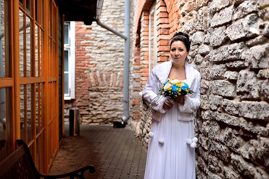 Съемка свадьбы в Таллинне в отеле St.Olav.