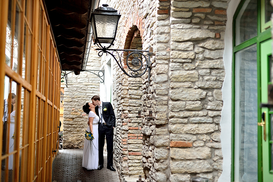 Свадьба в Таллине, съемка в интерьерах гостиницы St.Olav в Таллине.
