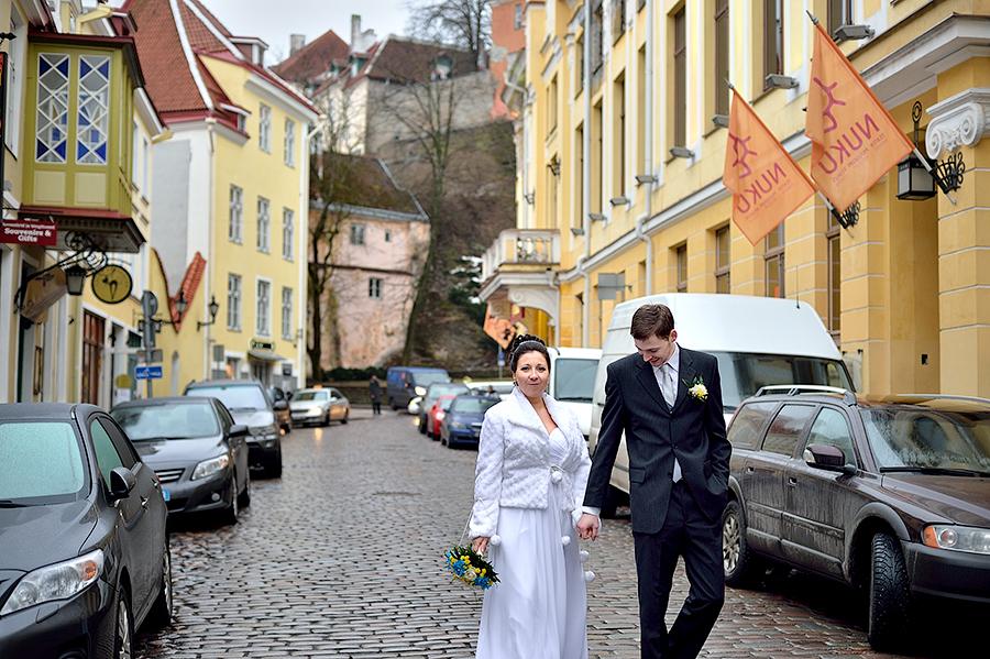 Старый город Таллинна.