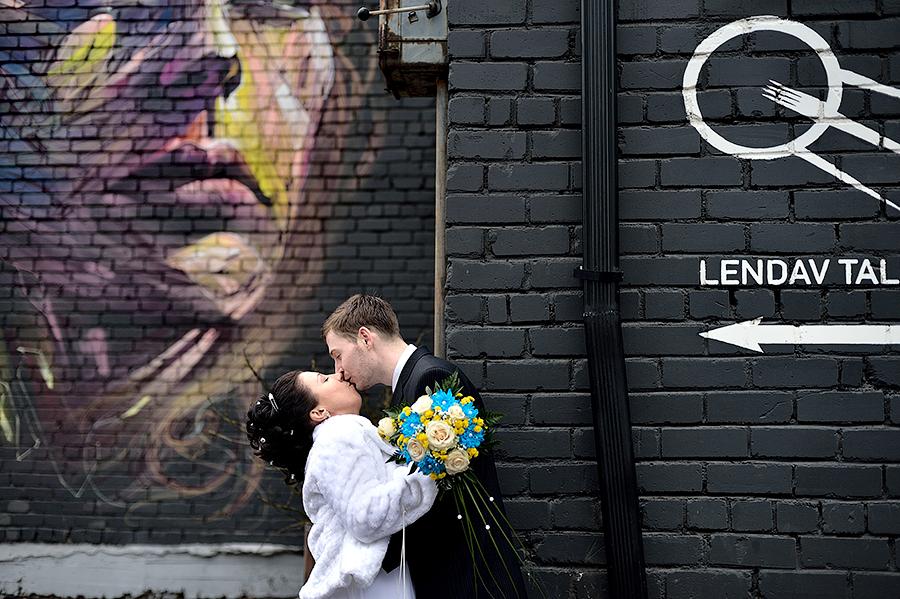 Свадебная фотосессия в Таллинне. Идеи и места для съемки.