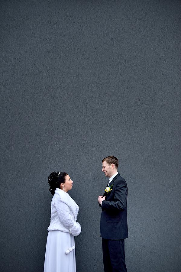 Необычная свадебная фотосессия в Таллинне.